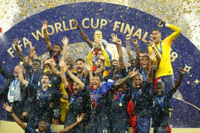 Vlera që lojtarët dhe Federata e Francës ka fituar nga triumfi në Botëror