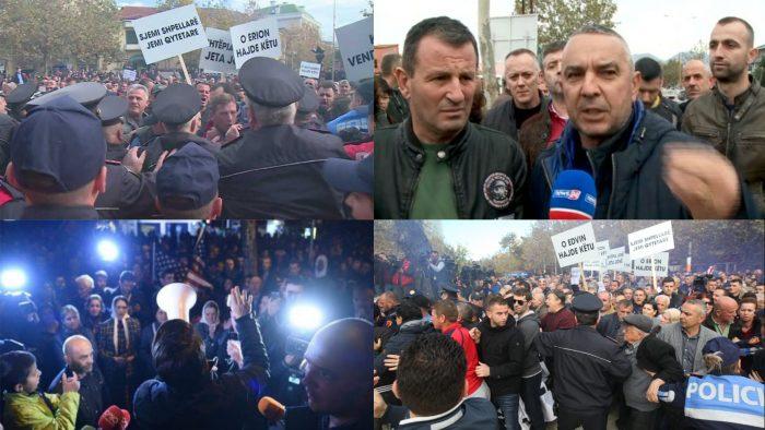 """Tirane/ """"Unaza e re"""", 22 protesta; 135 të shoqëruar që nga fillimi i muajit"""