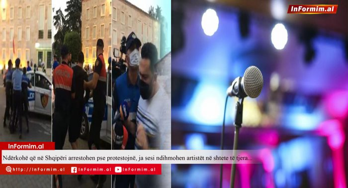 Ndërkohë që në Shqipëri arrestohen pse protestojnë, ja sesi ndihmohen artistët në shtete të tjera..