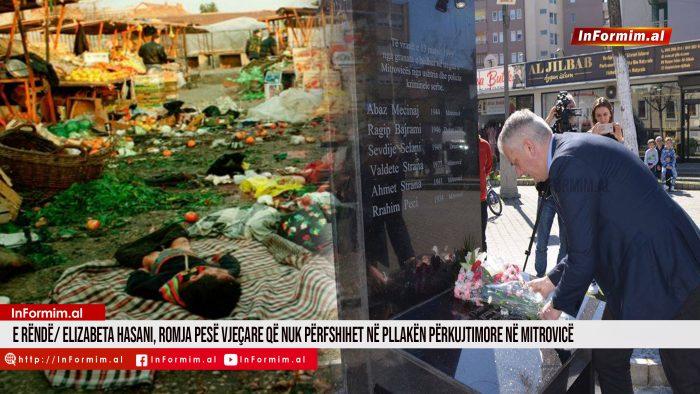 E rëndë/ Elizabeta Hasani, romja pesë vjeçare që nuk përfshihet në pllakën përkujtimore në Mitrovicë.