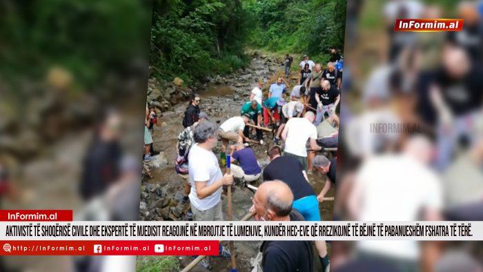 Aktivistë të Shoqërisë Civile dhe ekspertë të Mjedisit reagojnë në mbrojtje të lumenjve, kundër HEC-eve që rrezikojnë të bëjnë të pabanueshëm fshatra të tërë.