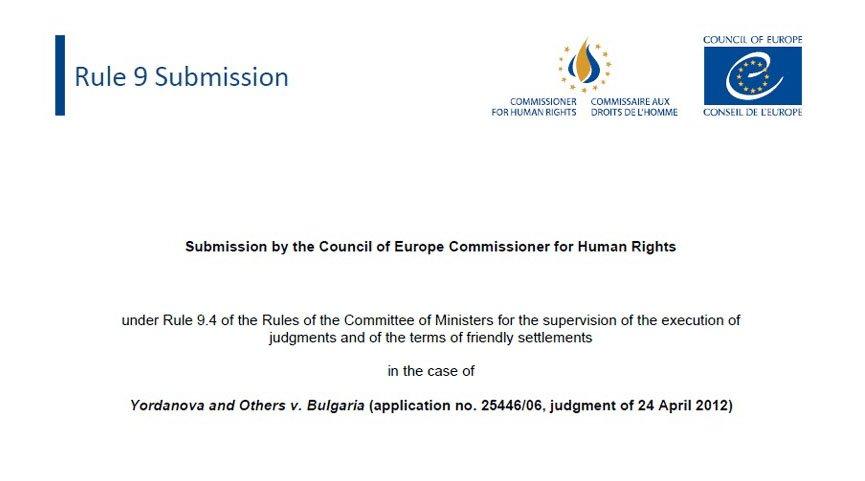 Komisioneria prane KE/ Autoritetet Bullgare duhet të parandalojnë dëbimet e detyruara dhe margjinalizimin e Romëve dhe të përmirësojnë mundësinë e tyre për strehim të përshtatshëm