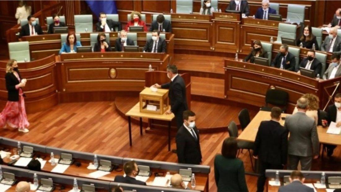 Dështon raundi i parë i votimit për zgjedhjen e presidentit të Kosovës