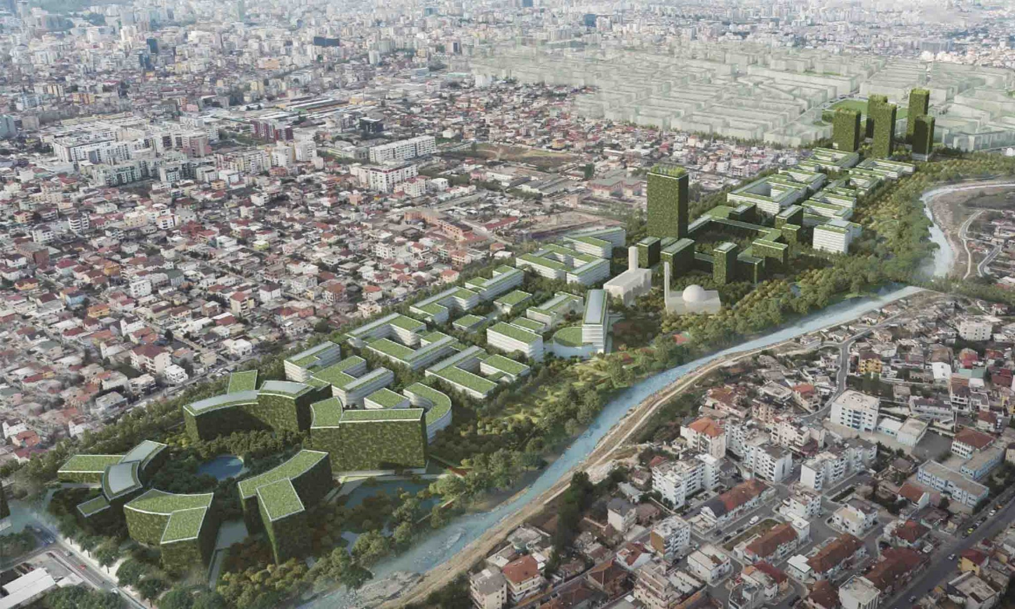 """Projekti """"Tirana Riverside"""" / Çfarë do të bëhet me famljet rome dhe egjiptiane të lagjes """"5-së Maji"""""""
