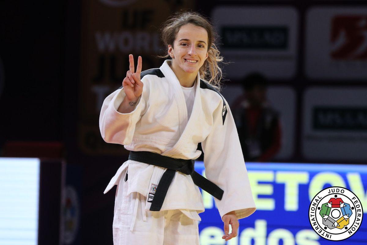 Distria Krasniqi fiton Medaljen e Arit në xhudo për Kosovën